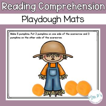 Read and Do Playdough Mats: Fall Edition