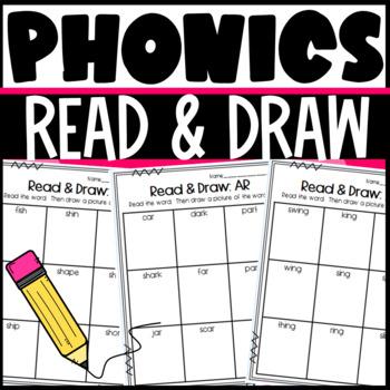 Read and Draw Bundle for Phonics Skills!