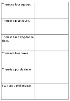 Read and Draw (Comprehension)