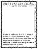 Read and Draw (Lire et Dessiner) for le carnaval