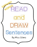 Read and Draw Sentences- Digraph words