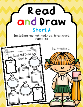 Read and Draw Short A Word Families