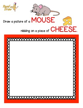 Read and Draw Vocabulary Printables NO PREP: Playful Pets!