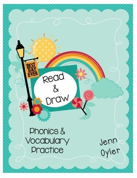 Read and Draw - Word Work for phonics and vocabulary