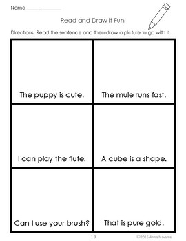 Read and Draw it Fun!