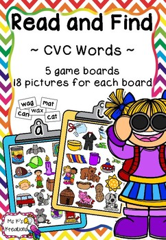 Read and Find - CVC Words
