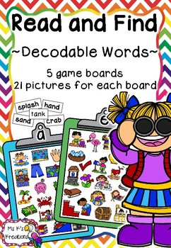 Read and Find - Decodable Words