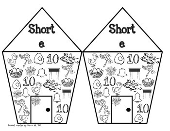 Read and Find Short E Game