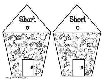 Read and Find Short O Game