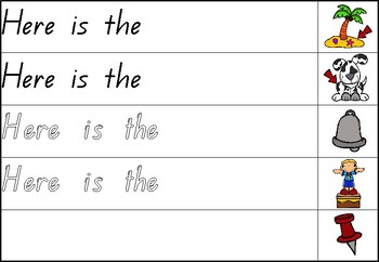 Read and Finish the Decodable Sentence - QLD Font