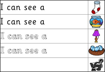 Read and Finish the Sentence - Sassoon Font