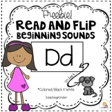 Read and Flip Cards - Beginning Sounds