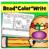 Read Color Write Reading Comprehension