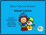 Read and Follow Directions: Winter Edition