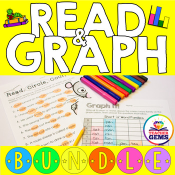 Read and Graph Bundle - Short, Long, R-Controlled Vowels a
