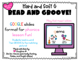 Read and Groove: Hard and Soft G Spelling Phonics Practice