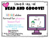 Read and Groove: Long A spelled -ai and -ay Phonics Practice Activity