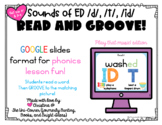 Read and Groove: Sounds of ed /d/, /t/, /id/ Spelling Phon