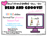 Read and Groove: /aw/ sound spelled -aw, -au Spelling Phon