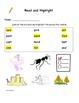Read and Highlight 1st Grade Treasures Full Year