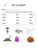 Read and Highlight 1st Grade Treasures Unit 5