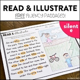 Read and Illustrate: FREE Phonics Fluency Passages