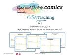Read and Illustrate Phonics Comics Set 1, SATPIN