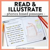 Read and Illustrate: Phonics Fluency Passages