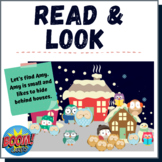 Winter Activities Boom Cards I Spy Read and Look