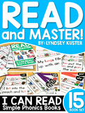 Read and Master Phonics: The 15 Book Set