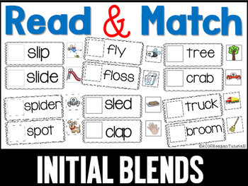 Read and Match Blends