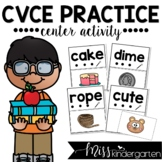 Read and Match CVCe Words Center