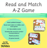 Watercolour Read and Match Game