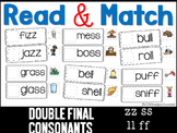 Read and Match Double Final Consonants