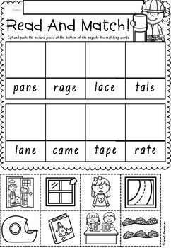 Read and Match Phonics in NSW Foundation Font ACARA Aligned