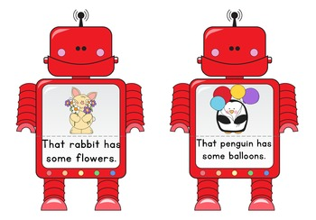 Read and Match Robots