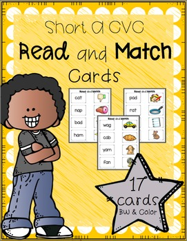 Read and Match (Short A CVC)
