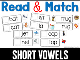 Read and Match Short Vowels