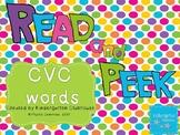 Read and Peek - CVC words
