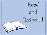 Read and Respond to Any Book