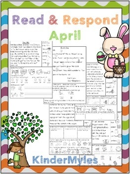 Read and Respond April {Comprehension Texts}