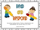 Read and Respond: Building Responsible Readers One Journal Entry at a Time!