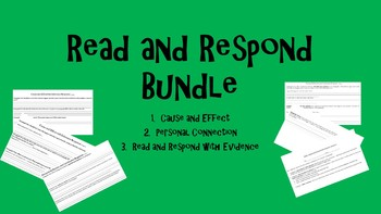 Read and Respond Bundle