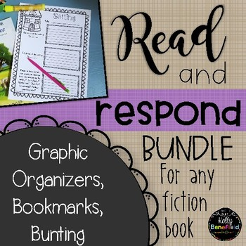 Read and Respond Bundle for Any Fiction Book