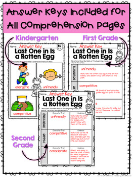 Easter: Reading Comprehension, Writing and Craftivities