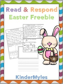 Read and Respond Easter Sampler