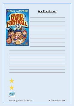 Read and Respond- Frankie's Magic Football - Pirate Pillagers