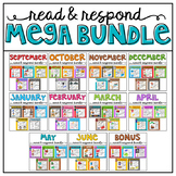 Read and Respond Yearlong  MEGA BUNDLE