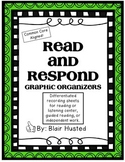Read and Respond Graphic Organizers