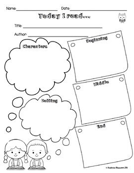 Read and Respond Literacy Centres Freebie!